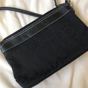 Calvin Klein Bags - Black and Gold Calvin Klein Wristlet